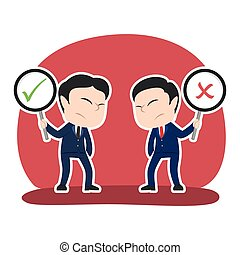 Chinese businessman debate checklist