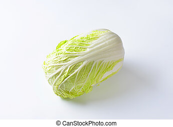 Chinese cabbage - Head of fresh Chinese cabbage