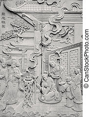 Chinese carving