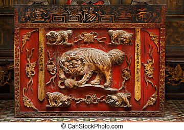 Chinese carvings