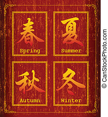 Chinese character-Season