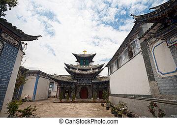 Chinese Church Dali Yunnan - A Chinese christian church...