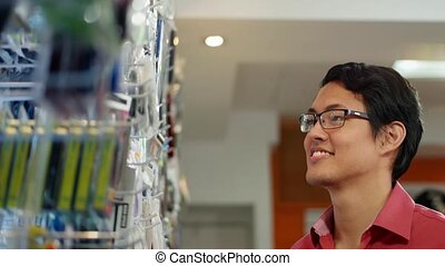 Chinese Computer Shop Owner
