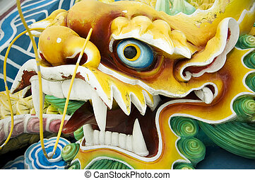 chinese dragon - chinese feng shui jade dragon