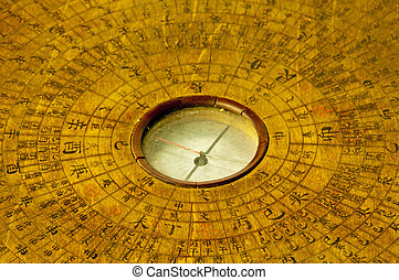 chinese antique compass