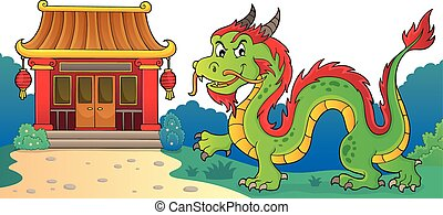 Chinese dragon theme image 3