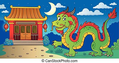 Chinese dragon theme image 4