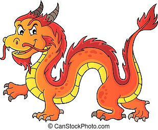 Chinese dragon theme image 5