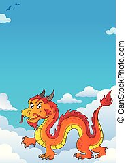 Chinese dragon theme image 7