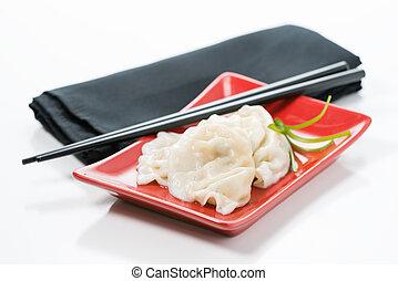 Chinese Dumpling Plate