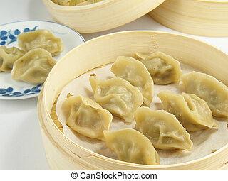 Chinese Dumplings - These Chinese dumplings (jiaozi) are...