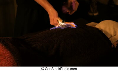 Chinese fire massage and therapy