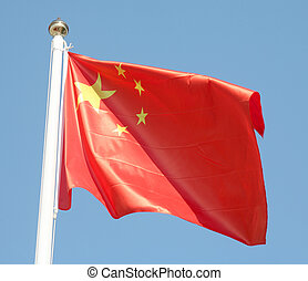 Chinese flag - The flag of the People\\\'s Republic of China