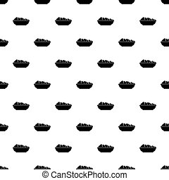 Chinese food box pattern vector