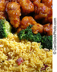Chinese food - General Tso's chicken