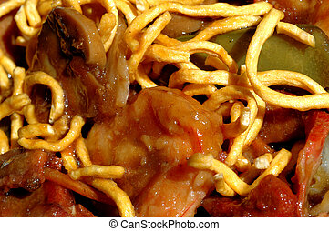 chinese food noodles