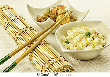 Chinese food, some plate - Chinese food dishes, cantonese...