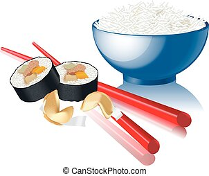 chinese food illustrations and clipart 13 719 chinese food royalty rh canstockphoto com chinese food clipart black and white chinese food clipart images