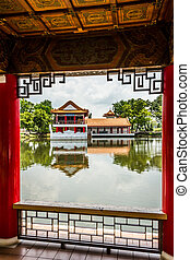 Chinese Garden. Singapore