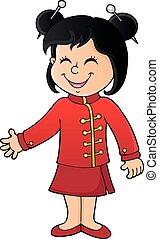 Chinese girl theme image 1