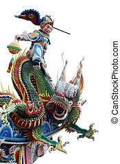 Chinese GOD and dragon