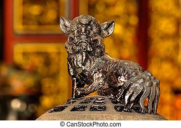 Chinese god lion