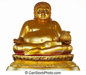 Chinese Golden Buddha Statue