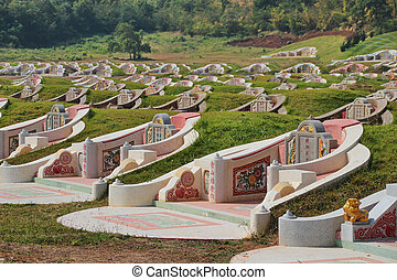 Chinese grave - Fengshui in Thailand