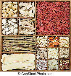 Chinese herb medicines