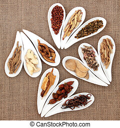 Chinese Herb Selection