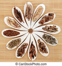 Chinese Herb Selection - Chinese herbal medicine selection ...