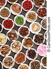 Chinese Herb Selection - Chinese herbal medicine with ...
