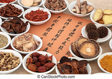 Chinese Herb Selection - Traditional chinese herb selection ...