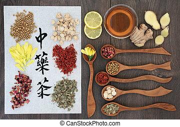 Chinese Herbal Health Teas