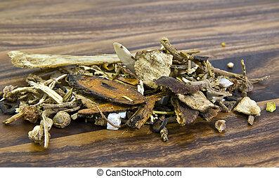 Chinese herbal medicine - Cork tree bark