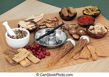 Chinese Herbal Medicine Moxibustion Treatment