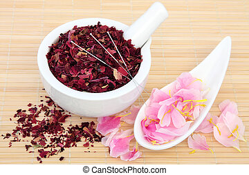 Chinese Herbal Medicine - Chinese herbal medicine with...