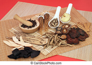 Chinese Herbal Medicine used as a Tonic