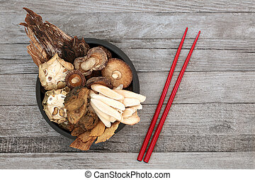 Chinese Herbs used in Traditional Ancient Herbal Medicine
