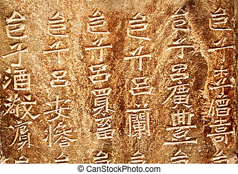 Chinese hieroglyphs