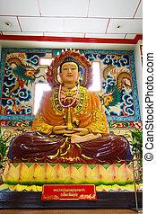 Chinese image of Buddha