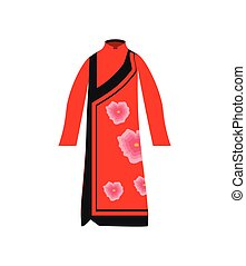 chinese kimono traditional
