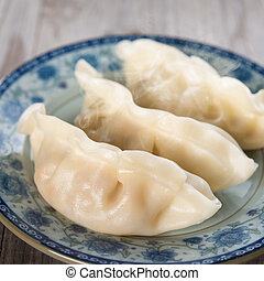 chinese kochen, frisch, klöße