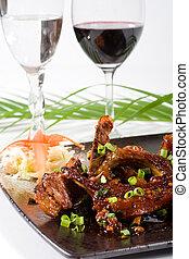 chinese lamb chops