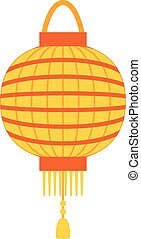 Chinese lantern vector illustration. - Chinese lantern...