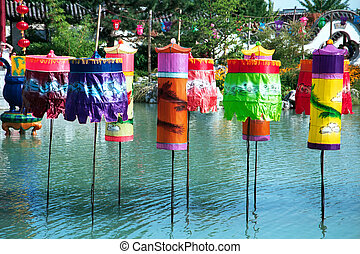 Chinese lanterns 1 - Chinese lanterns in exposition in...