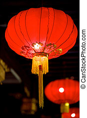 Chinese lanterns - Close-up Chinese new year lanterns
