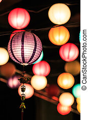 Chinese lanterns season in celebrate
