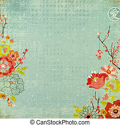 Chinese Lotus Flower Background - Chinese Background With ...