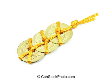 Chinese Lucky Coin Charm
